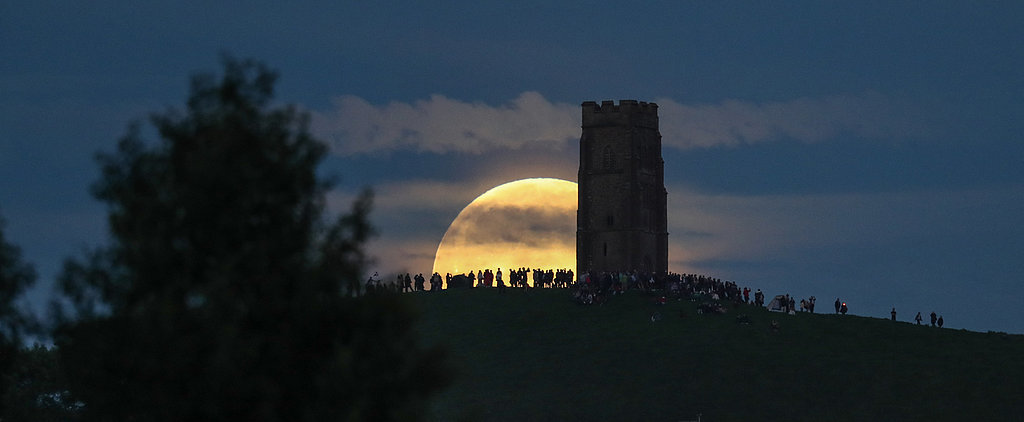 These Photos From the Rare Strawberry Moon Are Magical and Wonderful