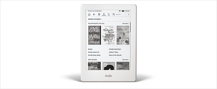 Amazon Upgrades the Kindle to a Thinner, Lighter Model