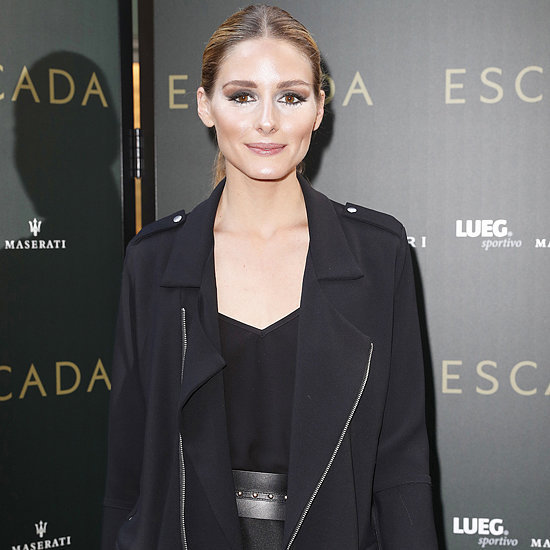 Olivia Palermo's Black Outfit at Escada Opening June 2016