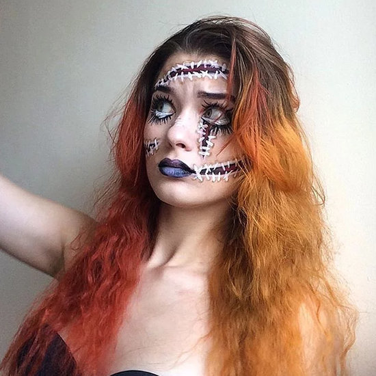 Creepy Halloween Makeup | Saida Mickeviciute