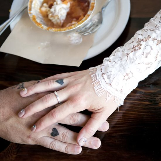Tiny Wedding Tattoos
