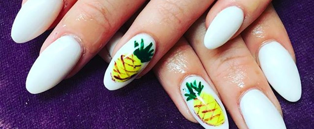 16 Pineapple Nail Art Ideas That Are Seriously Sweet