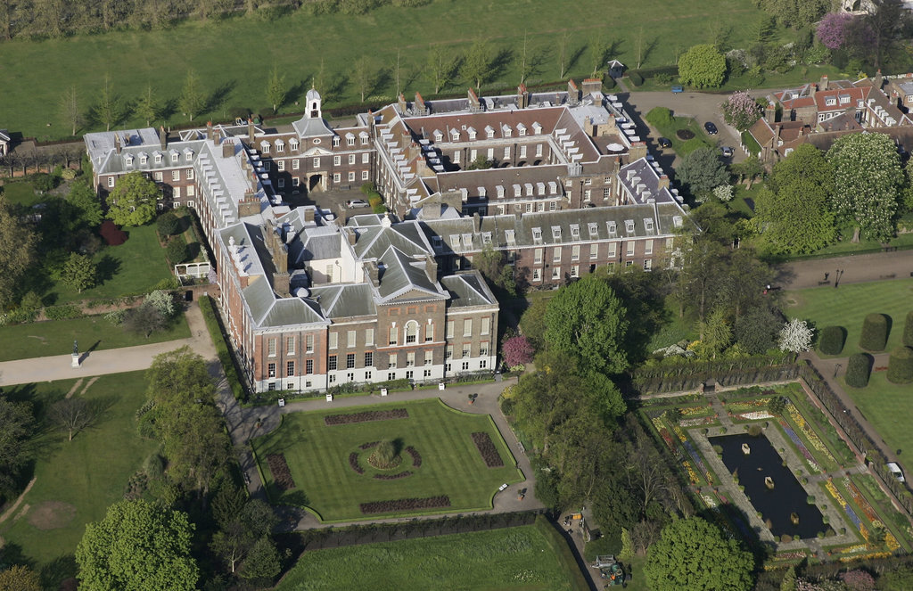 Princess Diana 39 S Kensington Palace Apartment As Offices
