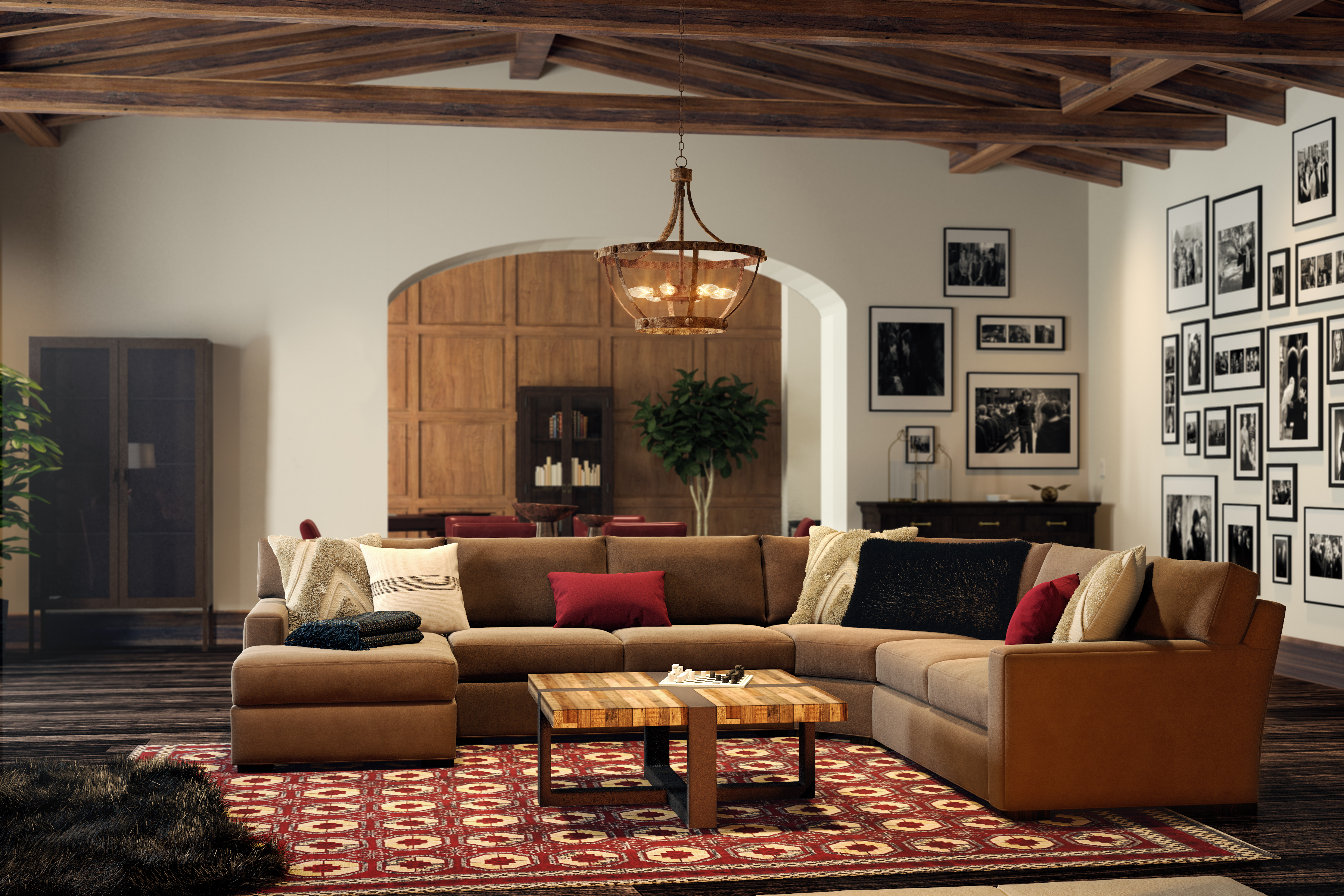 Harry Potter-Inspired Industrial-Style Living Room   Try ...
