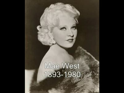 """When I'm Bad, I'm Better"" Mae West"