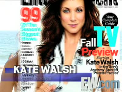 Kate Walsh EW Interview