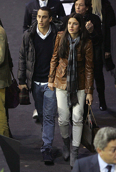 Charlotte Casiraghi and her boyfriend attend the Gucci Masters in Paris