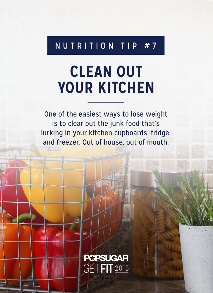Clear Out Your Kitchen Best Nutrition Tips Popsugar
