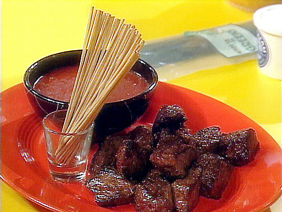 Steak Bites With Bloody Mary Dipping Sauce Recipe