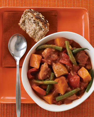 Easy and Fast Chicken Pumpkin Stew Recipe