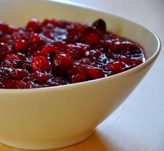 Cranberry Caramelized Onion Sauce