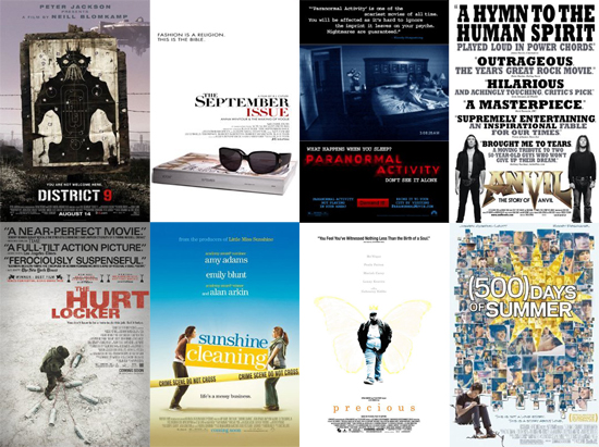 What Is the Best Little-Movie-That-Could of 2009?