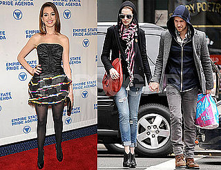 Photos of Anne Hathaway, Who's in Talks to Star in Rio With Neil Patrick Harris, at an Event in NYC With Mayor Bloomberg