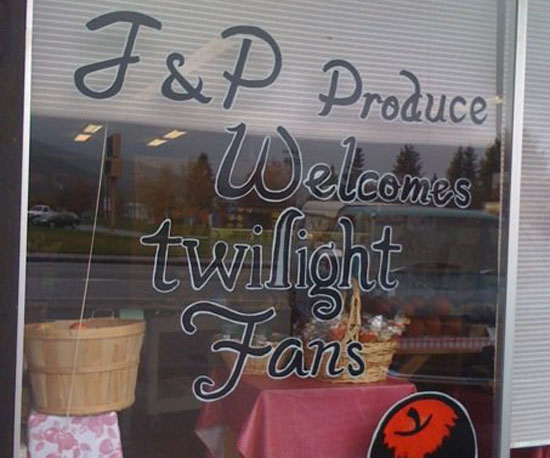 Produce and Twilight!