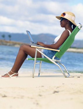 I'm Asking: Do You Still Work While on Vacation?