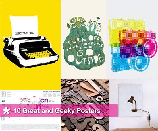 10 Geeky Posters