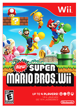 New Super Mario Bros. For the Wii Goes on Sale This Sunday
