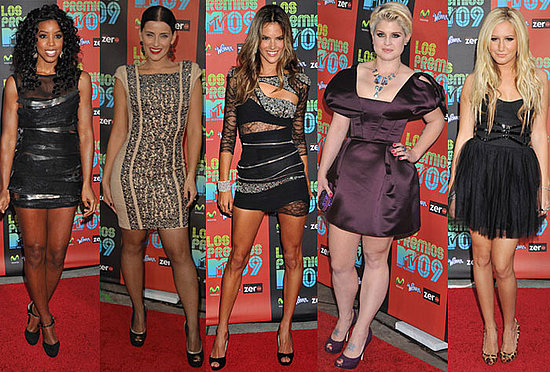 Best Dressed at 2009 Los Premios MTV Awards