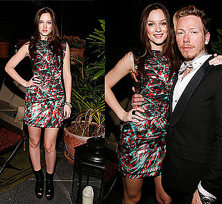 """Leighton Meester Wears Colorful Marios Schwab Dress at Swarovski """"You Know You Want It: Style-Inspiration-Confidence"""" in NYC 2009-11-06 11:00:22"""