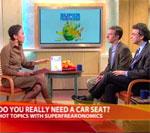 SuperFreakonomics Will Have Parents Questioning Car Seats