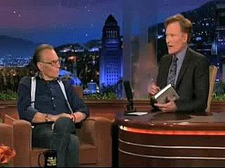 Larry King on Conan O'Brien