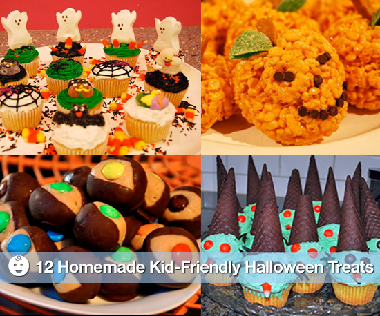 12 homemade kid friendly halloween treats popsugar moms