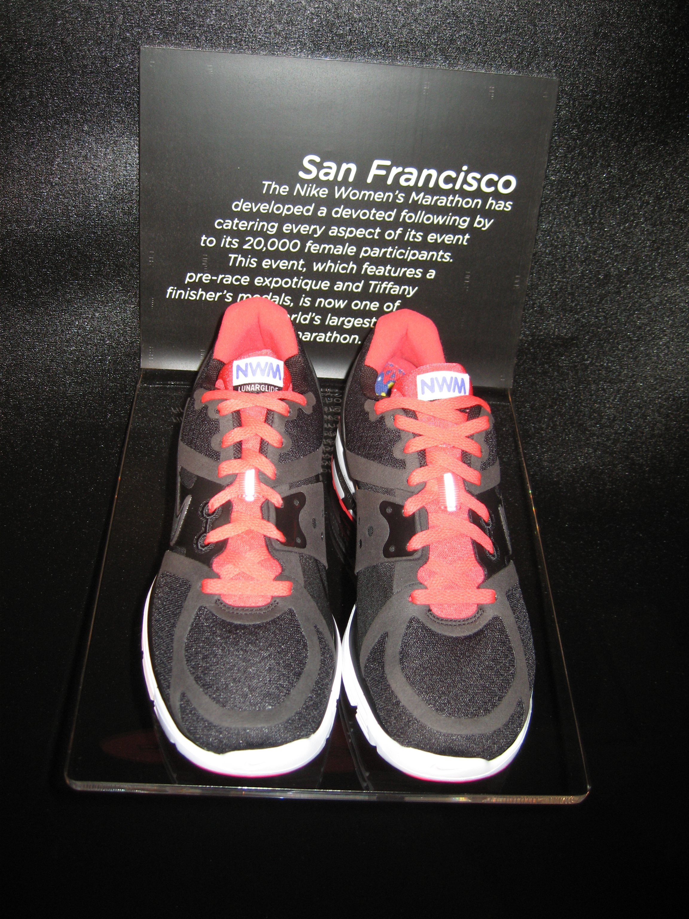 Line of Marathon Shoes: San Fancisco