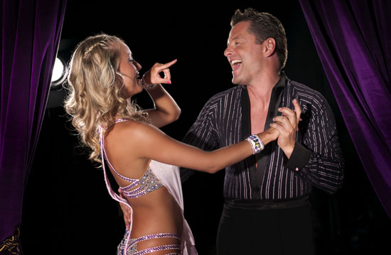 Exclusive Interview With Chris Hollins and Ola Jordan Strictly Come Dancing