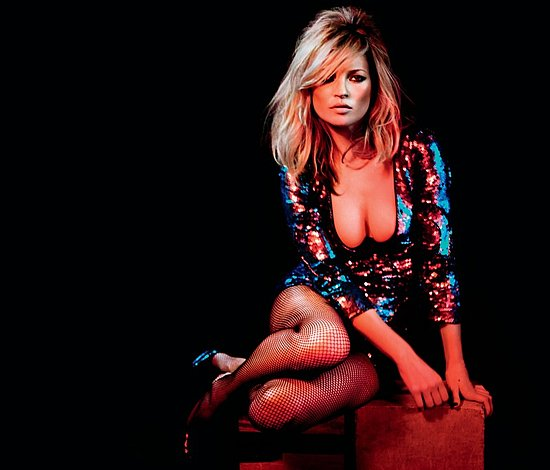 Kate Moss for Topshop Christmas 2009 Ad Campaign