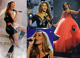 Photos of Katy Perry and Beyonce Knowles on Stage at the 2009 MTV Europe Music Awards
