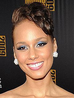 Photos of Alicia Keys at the 2009 American Music Awards 2009-11-22 17:15:52
