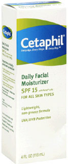 Review of Cetaphil Daily Facial Moisturizer For All Skin Types With SPF 15