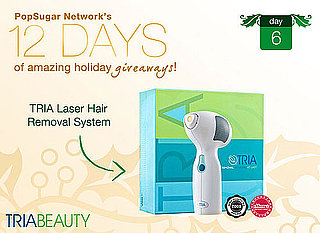 12 Days of Holiday Giveaways, Day 6  – Win a TRIA Hair Removal System!