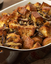 Shiitake Mushroom-and-Fresh Herb Stuffing