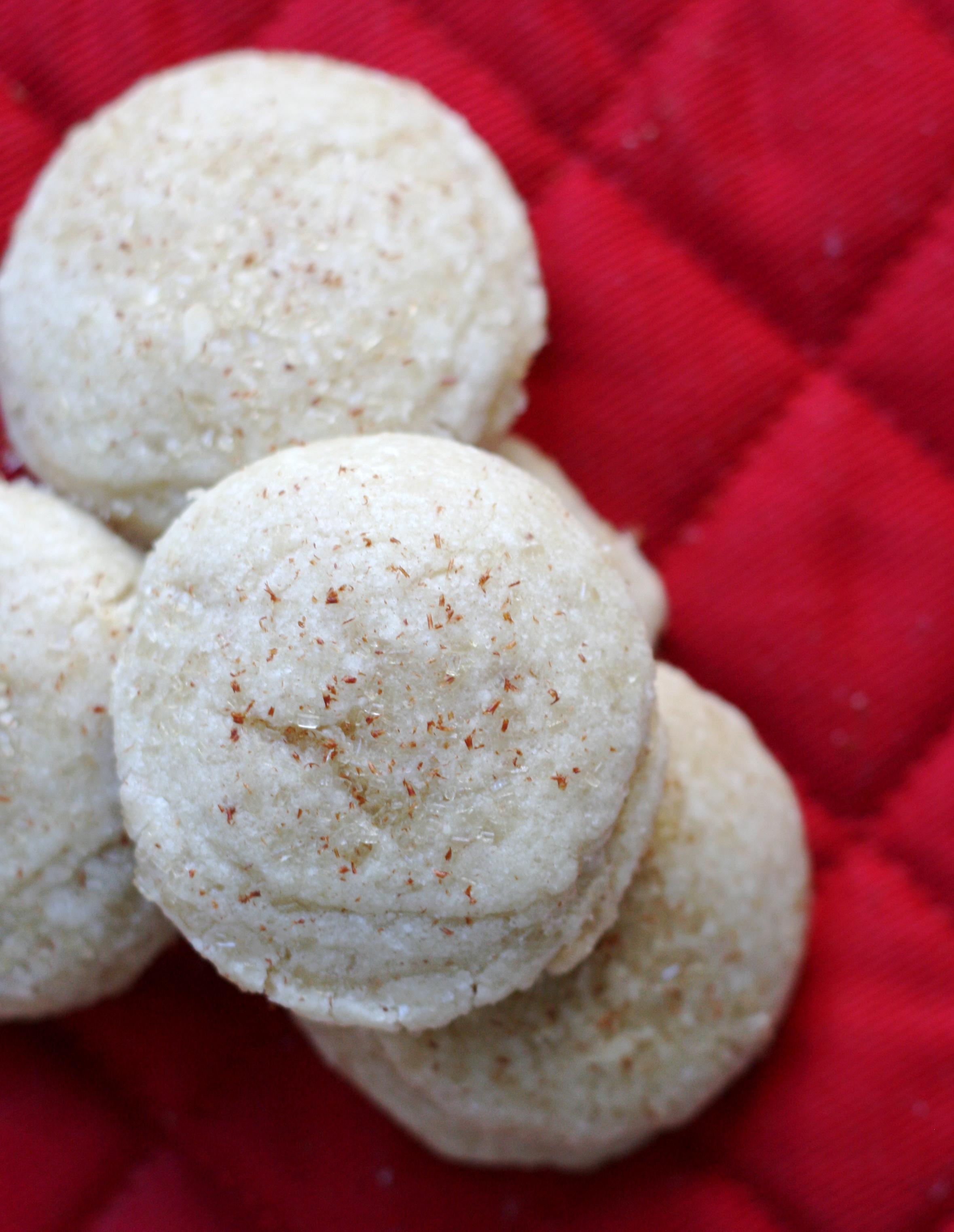 Cinnamon Sugar Drop Cookies