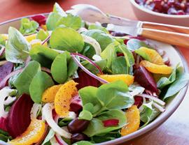 Beet, Fennel, and Orange Winter Salad Recipe