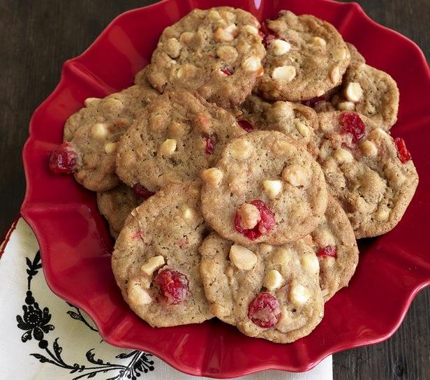 Paula Deen's White Chocolate Cherry Chunk Cookies ...