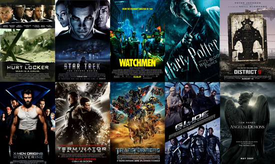 What Is the Best Action Movie of 2009?