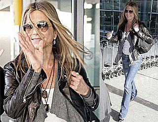 Photos of Jennifer Aniston in London on Thanksgiving