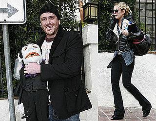 Photos of Lindsay Lohan and Jason Segel
