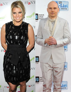 Jessica Simpson Linked to Billy Corgan —Too Bizarre or Strangely Perfect?