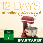 12 Days of Holiday Giveaways, Day 7: KitchenAid Professional Stand Mixer