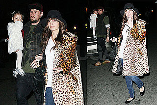 Photos of Nicole Richie, Harlow Madden, and Joel Madden in LA