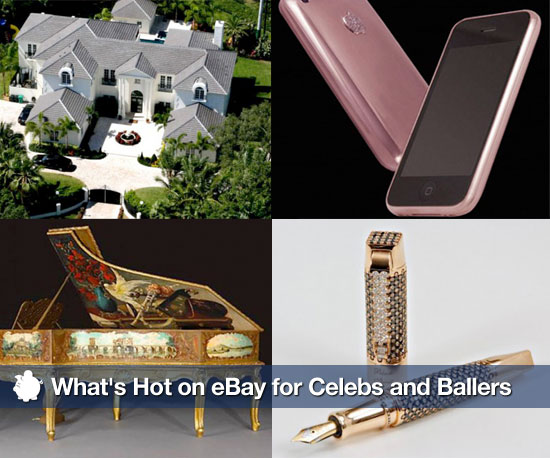 What's Hot on the eBay For Celebs and Ballers