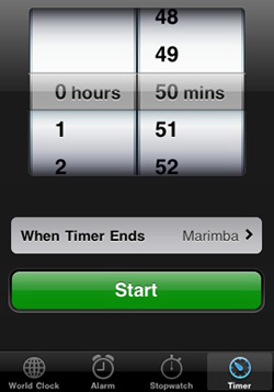 Use Your Phone's Alarm as a Kitchen Timer