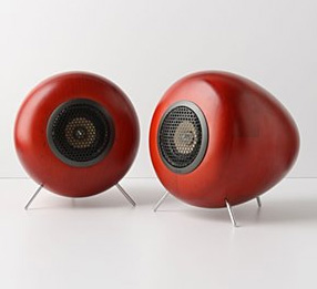 Beautiful Glow Audio Wood Speakers From Anthropologie