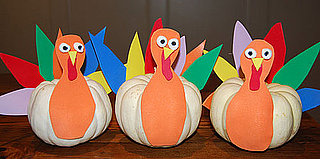 Cute Kid-Friendly Turkey Decorations for Thanksgiving
