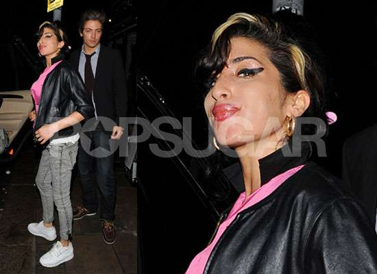 Photos of Amy Winehouse Night Out With Tyler James Before Hospitalisation After Mixing Medication