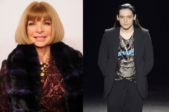 What Anna wants, she usually gets. Rumor has it Anna Wintour has coaxed Halston to take on wunderkind Olivier Theyskens as its new creative director position. No confirmation yet . . .