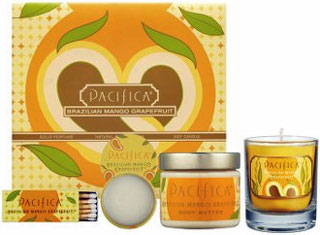 Saturday Giveaway! Win a Pacifica Brazilian Mango Grapefruit Travel Set